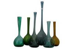 Arthur Percy Bottle Collection, Set of 6