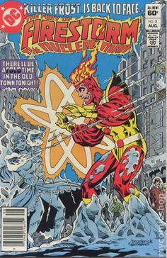 THE FURY OF FIRESTORM THE NUCLEAR MAN 3, DC COMICS