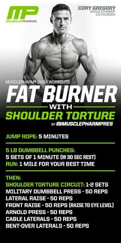 Fat burner with shoulder torture