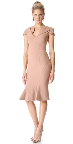 Zac Posen Short Sleeve Collared Dress | SHOPBOP Save 20% with Code WEAREFAMILY13