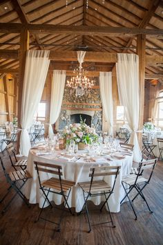 Wedding Receptions rustic barn wedding reception with fabric draping Wedding Receptions, Reception Decorations, Wedding Events, Wedding Ideas, Reception Ideas, Wedding Goals, Fall Wedding, Wedding Inspiration, Elegant Wedding
