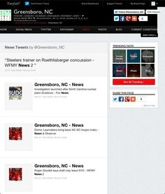 Twitter Trending Now ▸ news by @Greensboro_NC