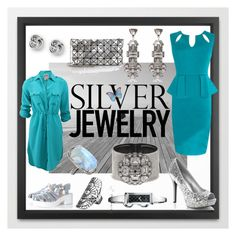 Silver Mode On- Be Your Own Kind of Beautiful! by kanikakamra on Polyvore featuring Haute Hippie, Glamorous, Bao Bao by Issey Miyake, Gucci, FOSSIL, River Island, ADORNIA and maurices