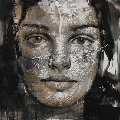 -Max Gasparini- 'La nuit d'eté' (painting. 2014)