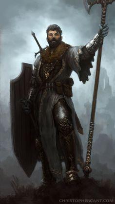 Digital Art | meninfantasyart: Witch Hunter by ChristopherCant