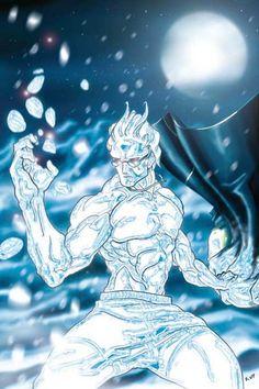 iceman Marvel Comics Art, Marvel X, Fun Comics, Marvel Heroes, Comic Book Characters, Comic Book Heroes, Comic Character, Comic Books Art, X Men