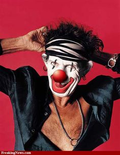 Clown Celebrities Pictures - Strange Pics - Freaking News