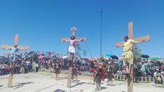 Termina San Antonio de Padua escenificación con crucifixión | El Puntero