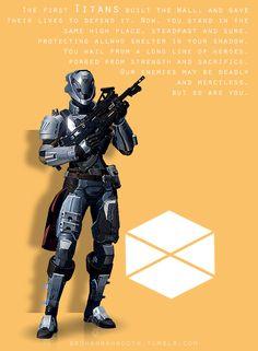 Destiny - The Titan by HannahRooth on DeviantArt