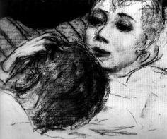 Ilya Sergeyevich Glazunov, The Couple, 1956