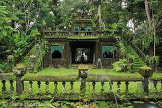Abandoned Mansion in the Rainforest(Paronella Park, QLD, Australia)