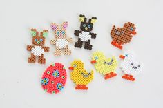 Easter Ostern hama beads by Joan Bagger