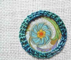 Shisha Stitch with Paper via NeedleNThread