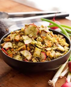Roasted Potato Salad with Avocado Dressing Summer BBQ - Vegan Style   Simply Gluten Free Magazine