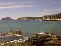 Moraira met uitzicht op Calpe Moraira, Water, Outdoor, Gripe Water, Outdoors, Outdoor Games, Outdoor Living