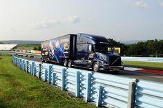 BK Racing, NASCAR, Volvo, Transporter, Hauler