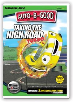 Auto-B-Good: Taking the High Road Turbo // It's race time! Join Johnny while he races against the best in the world as the City of Auto celebrates the opening of the new Morales Highway. Will the other cars cheat to win or will Johnny prove victorious? Children will learn about goodness, dignity and integrity.