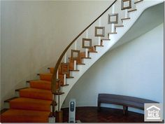 1948's home staircase - love it. Thanks No Patten Required for sharing.