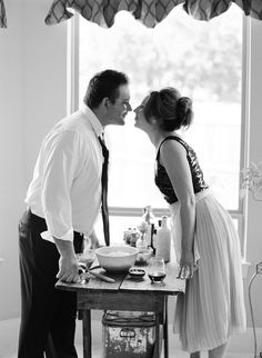 Cooking Engagement Session | photography by http://jennymccann.com