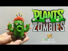 PLANTS VS ZOMBIES 2 CACTUS EN ✓ PORCELANA ✓ PLASTILINA ✓ ARCILLA POLIMERICA - YouTube