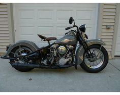 VERY Rare 1945 Harley-Davidson 74