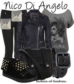 """Nico Di Angelo"" by fofandoms ❤ liked on Polyvore"