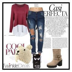"""Outfit for school"" by zina1002 ❤ liked on Polyvore featuring Whiteley"