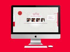 Ana María y Camilo decidieron casarse y tener la página web de su boda con fotos del matrimonio, decoración, lista de regalos y mensajes de los invitados.  Año 2009.