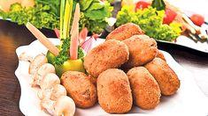 Chifteluțe de pleurotus. Rețetă simplă și delicioasă | Rețete | Viva.ro Dairy, Cheese, Food, Essen, Meals, Yemek, Eten
