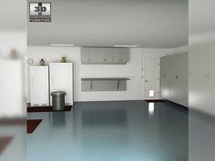 3D Model Garage 01 Set c4d, obj, 3ds, fbx