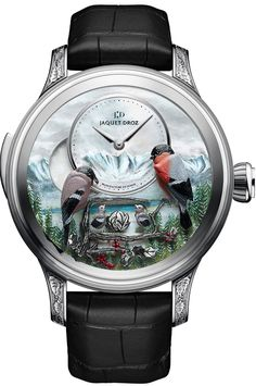 Jaquet-Droz [NEW][LIMITED 8 PIECE][全新限量8支] THE BIRD REPEATER ALPINE VIEW (Retail:CHF500000) ~ UNBEATABLE PRICE: HK$2,880,000.