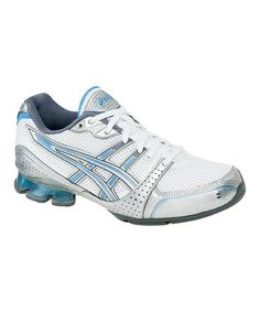 b9f21272cdd Take a look at this White   Silver GEL-Enthrall Cross-Training Shoe - Women  by ASICS on today!