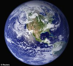 This is THE definitive image of planet Earth: Satellite captures all of our globe in one stunning, 121-megapixel shot