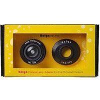 Holga FEL-F7S Fisheye Lens Kit for Fujifilm Instax Mini 7s by Holga