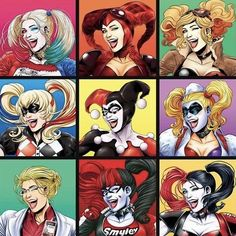 ~Hey Gorgeous~ The Many Faces of Harley Quinn