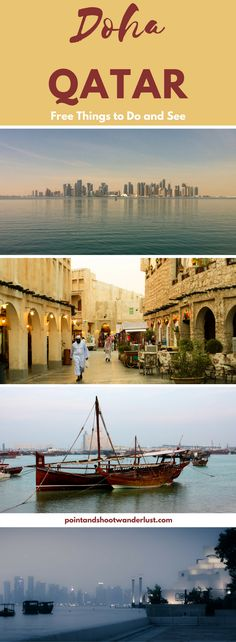 Doha, Qatar | Things to do | Things to see | Places to go | Doha Travel guide | Doha, Qatar Layover | Gulf | GCC | Middle east travel | Free things to do in Doha | Free places to see in Doha