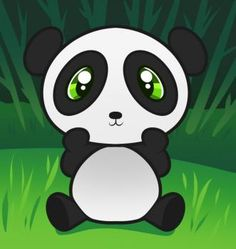 How to Draw a Panda for Kids - Animals For Kids