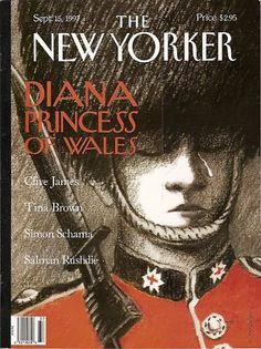 New Yorker Magazine, Princess Diana, September 15,1997~USED