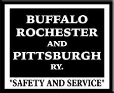 The Buffalo, Rochester and Pittsburgh Railway 1881- 1932.    It became part of the B&O in 1932.