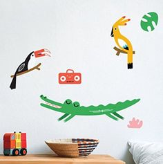 The most popular poussettes ideas are on pinterest strollers makii wall stickers jungle crocodile ed toucan jimmy parrot lois radio altavistaventures Images