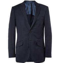 Richard James Seishin Slim-Fit Wool Blazer in Navy | MR PORTER