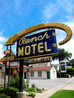 Ranch Motel....San Antonio, Texas