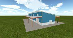 Cool 3D #marketing https://ift.tt/2qh1GJq #barn #workshop #greenhouse #garage #roofing #DIY