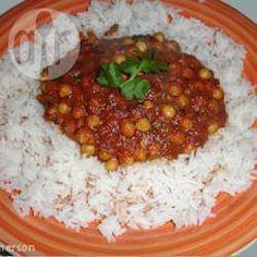 Chickpea Curry @ allrecipes.co.uk