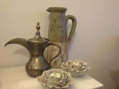 Splendid old ewer or dallah available from Mallingbournes on Etsy