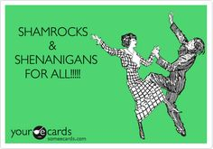St. Patrick's Day Funnies, LOL - DIY Vintage Chic: Top Ten Tuesday ~ St Patrick's Day ~ No. 105 #StPats #LOL