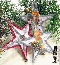 The Gentleman Crafter: How To: Vintage Star Ornament
