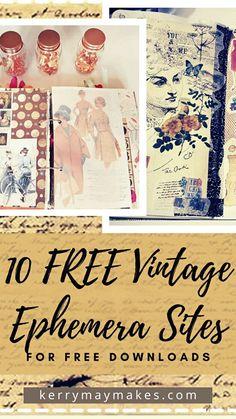 Journal Cards, Junk Journal, Scrapbook Journal, Art Journal Techniques, Kawaii Stationery, Vintage Ephemera, Vintage Newspaper, Creative Journal, Art Journal Inspiration