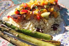 Pineapple salsa, Salmon and Salsa on Pinterest
