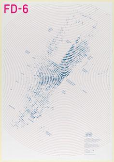 "Poster, ""FD-6: Flocking Diplomats New York: Locations, 1998-2005"", Designed October 2008"
